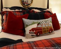 Pottery Barn Woody Christmas Pillow_wm
