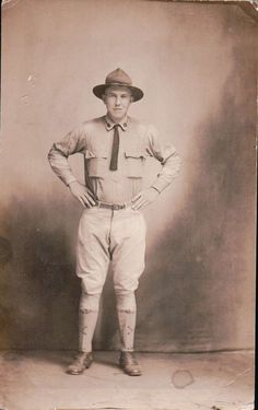 1920's BOY SCOUTS OF AMERICA BSA TROOP LEADER UNIFORM RPPC REAL PHOTO POSTCARD in Collectibles, Historical Memorabilia, Fraternal Organizations, Boy Scouts, Postcards & Cards | eBay