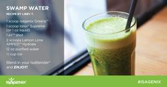 Stay energized while using Isagenix Greens as the perfect complement to your daily intake of vegetables!
