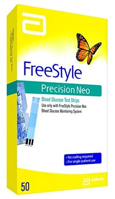 Freestyle Precision Neo Blood Glucose test strips, 0.073 Pound -- Check out the image by visiting the link.