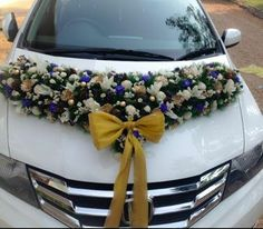 wedding - car deco