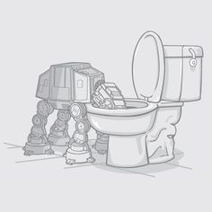 "I love this Bad AT-AT Walker.... ""Mom, he`s sooooo cute, can we take him home?""    http://linkedinsiders.wordpress.com/"