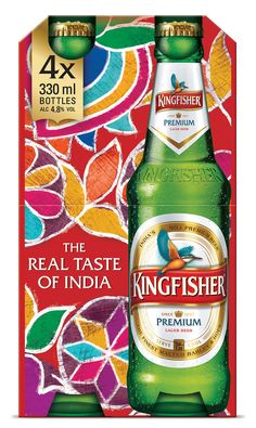 Kingfisher Beer on Packaging of the World - Creative Package Design Gallery