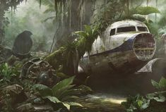 While trying to escape being captured by a local tribe, they take refuge in a crashed plane. #rothzroom