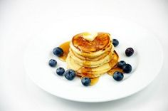 Une belle assiette de pancakes américains
