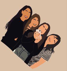 Love Photos, Cute Pictures, Selena Gomez Photoshoot, Black Girl Cartoon, Digital Portrait, Digital Art, Instagram Highlight Icons, Cute Icons, Miraculous Ladybug Memes