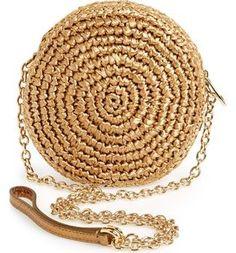 gold crochet