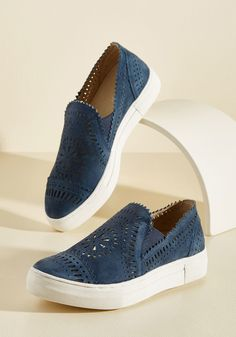 ~ So Nice Suede Slip-on Sneaker ~ modcloth.com