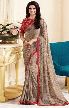 Siya Gray With Color Heavy Saree Fabric :- Saree Color :- Gray With Maroon Blouse Fabric :- Blouse Color :- Saree Cut :- Mtr Blouse Size :- Mtr Saree Work :- Type :- Wash Care :- Priyanka Chopra Saree, Bollywood Saree, Party Wear Sarees Online, Wedding Sarees Online, Phulkari Saree, Georgette Sarees, Chiffon Saree, Latest Indian Saree, Indian Sarees