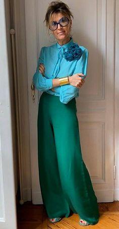 Work Fashion, Fashion Pants, Daily Fashion, Fashion Outfits, Womens Fashion, Classy Outfits, Sexy Outfits, Colour Combinations Fashion, Smart Outfit