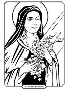st therese crafts printables and fun for kids from one of my