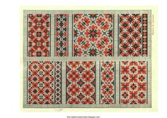 Free Easy Cross, Pattern Maker, PCStitch Charts + Free Historic Old Pattern Books: Ukrainian Embroidery 1930 - украинские вышивки 1930