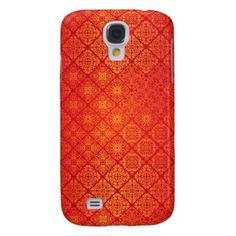 Floral luxury royal antique pattern samsung galaxy s4 cover - patterns pattern special unique design gift idea diy