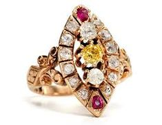 Image result for victorian aesthetic Victorian Jewelry, Antique Jewelry, Vintage Jewelry, Victorian Ring, Diamond Rings, Diamond Jewelry, Jewelry Art, Fine Jewelry, Jewellery
