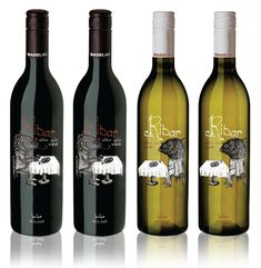 Дизайн упаковки вина. Very clever wine bottle packaging (look closely) PD