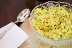 Curry Artichoke Rice recipe. Simply Southern luncheon in Augusta, GA. Love, Mary Hester.