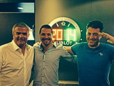in Rio with Ricardo Guadalupe and Rick Delacroix at the #Hublot Palace #HublotLovesFootball #WorldCup2014