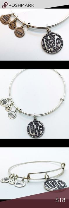Alex and Ani Open Love II EWB RS New with no tags!!                                                        Pictures by me!! Alex & Ani Jewelry Bracelets
