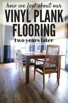 Farmhouse Vinyl Plank Flooring One Room Challenge Week - How good is vinyl plank flooring