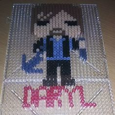 Daryl Dixon - The Walking  Dead perler beads by miss_yunjae