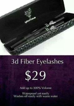 Fiber Lashes Mascara Younique By Tracy 3d Mascara, 3d Fiber Lashes, 3d Fiber Lash Mascara, Best Mascara, Mascara Younique, Waterproof Mascara, Eye Makeup, Makeup Ads, Blush