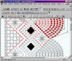 Fenêtre de l'application Lace