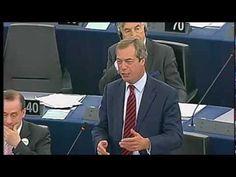 barroso, barroso's state of the union, european parliament, nigel farage, nigel farage destroy's barroso's state of the union