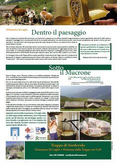 DENTRO IL PAESAGGIO - SOTTO IL MUCRONE Domenica 20 luglio