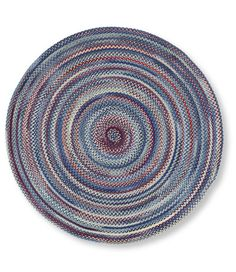 Bean S Braided Wool Rug Round Rugs And Rug Pads At L L