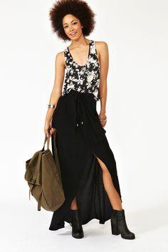Midtown Maxi Skirt