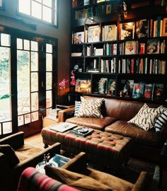 books + windows... Would probably be used more than our living room :)
