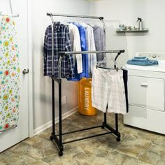 Just for You W Double Hanging Garment Rack By Honey Can Do