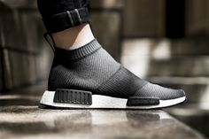 adidas NMD City Sock Core Black will be debuting in September 2016 as part  of the Winter Wool Collection. The adidas NMD City Sock features Black  Primeknit