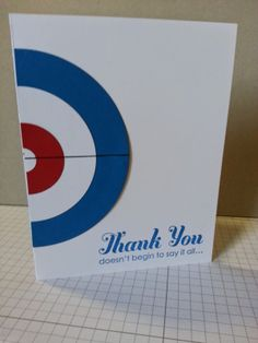 Paper Curiosities: Thanks for a Great Curling Season. Stampin' Up!, Lots of Thanks, Curling Cards