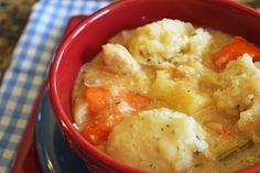 Chicken and Dumplings (Crock Pot) Jamie Cooks It Up – Family Favorite Food and Recipes  