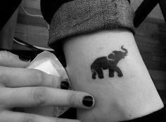 51 Cute and Impressive Elephant Tattoo Ideas - The small ones are super cute