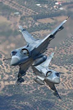 Dassault Mirage 2000 Greece A. Airplane Fighter, Airplane Art, Fighter Aircraft, Military Jets, Military Aircraft, Air Fighter, Fighter Jets, Rafale Dassault, Hellenic Air Force