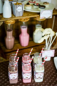 Milk and cookies 2nd birthday party via Kara's Party Ideas karaspartyideas.com