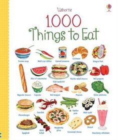 This fantastic book contains exactly 1,000 amazing things to eat, from raw ingredients to delicious dishes. You'll find things you eat every day as well as lots of exciting foods from around the world.
