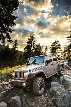 2013 Jeep Wrangler Rubicon 10th Anniversary Edition Yep, I will own one of these one day.