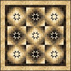 Amelia's Dancing Stars Quilt Pattern