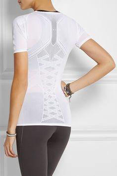 FALKE Ergonomic Sport System | Running mesh-paneled jersey t-shirt #NETASPORTER.