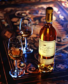 (Will buy and try one day!) Château Yquem  http://www.yquem.fr/yquem.php?l