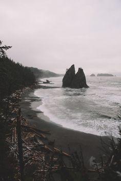 Rainy days along the Washington Coast. by Alex Bailey on 500px