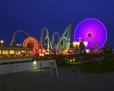 The Lights of Wildwood, New Jersey Photography at ArtistRising.com