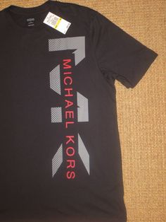Short Sleeve Regular Solid M Cotton T-Shirts for Men Today's Man, Michael Kors Men, Mk Logo, Black Media, Mens Fashion, Medium, Fashion Ideas, Cotton, Mens Tops