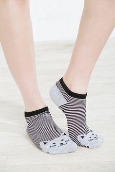 High cut printed socks - Accessories