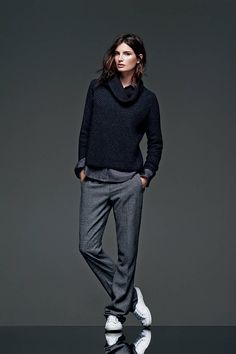 See Banana Republic's Super Chic New Fall Collection - The New BR Lookbook - Elle This is soooo me! I love it!...I want it!
