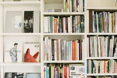 Art and photography books at the home of scent creators Shizuko Yoshikuni and Manuel Kuschnig - Freunde von Freunden