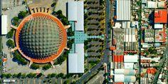 Palacio de los Deportes, Mexico DF. Felix Candela, Hyperbolic Paraboloid, 1968 Olympics, Architecture 101, Sky People, Ancient Aztecs, New Spain, Sports Complex, México City